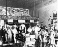 Sun Grocery Store given up to the Safeway. Henryetta, OK. 1926-1928