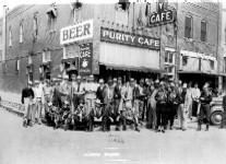 Town officials. Henryetta, Oklahoma