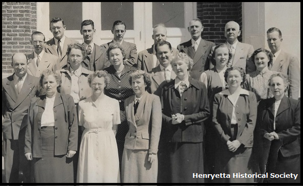 Henryetta Public Schools administrators and teachers.
