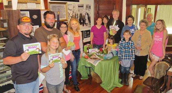 Community members visited the Henryetta Territorial Museum Saturday to attend a book signing for Henryetta alumni Rachael Sweeden.  (Photo provided)