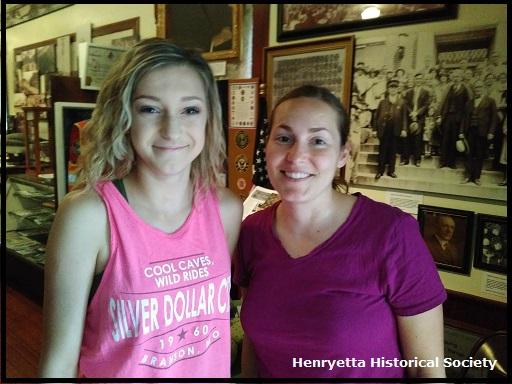 Emily Stockholm, Team Leader Henryetta History Camp Young Historians of Henryetta